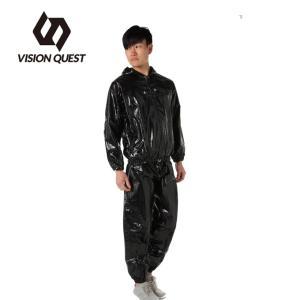 サウナスーツ メンズ レディース BK VQ580110E03 ビジョンクエスト VISION QUEST|himaraya