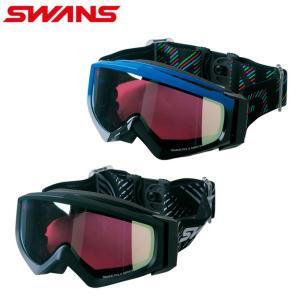 スワンズ SWANS スキー スノーボード ゴーグル メンズ 眼鏡対応GOGGLE GUEST-MPDH|himaraya