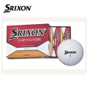 スリクソン(SRIXON) ゴルフ 1ダース(12個入り) スリクソン DISTANCE ディスタンス 【GLPB】