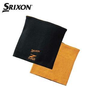 スリクソン リバーシブルマルチウォーマー(ブラック) (SMG4776) ゴルフネックウォーマー (メンズ) 防寒
