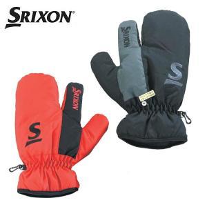 スリクソン ミトン(片手) (SMG5727) ゴルフ 左右兼用手袋(メンズ) 防寒