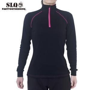 エスエルキュー SLQ スキー スノーボードインナーウェア レディース 6SL130112-01|himaraya