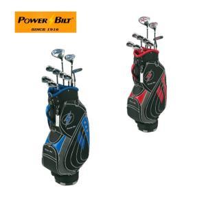パワービルト POWER BILT ゴルフ クラブセット メンズ FZ-3 HBS-5005 M-SET 初心者セット お買い得セット|himaraya