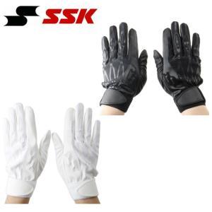 エスエスケイ SSK 野球 バッティンググローブ 両手用 メンズ 高校野球対応 BG3200W|himaraya