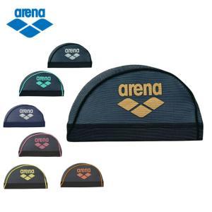アリーナ arena スイムキャップ メッシュ メンズ レディース メッシュキャップ ARN-6414