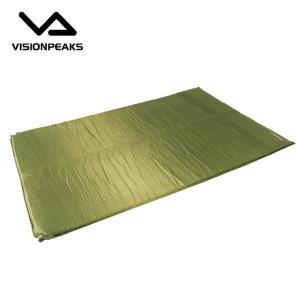 ビジョンピークス VISIONPEAKS インナーマット キャンプインフレータマットダブル4cm VP160301F01|himaraya