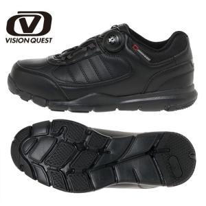 ウォーキングシューズ メンズ レディース FREELOCK ウォークライトBK VQ561101F01 ウオーキング カジュアルシューズ 運動 靴 ビジョンクエスト VISION QUEST|himaraya