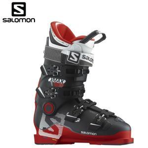 サロモン salomon X MAX100 メンズスキーブーツ red/black X-MAXバックルブーツ|himaraya