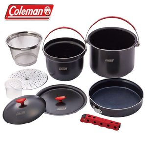 コールマン クッカー 鍋 フライパン セット アルミクッカーコンボ 2000026764 Coleman|himaraya|02