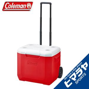 コールマン クーラーボックス ホイールクーラー/60QTレッ...