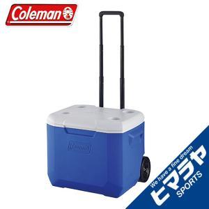 コールマン クーラーボックス 56L キャスター付 ホイールクーラー/60QTブルー/ホワイト 2000027863 coleman