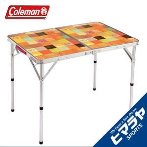 コールマン アウトドアテーブル 大型テーブル ナチュラルモザ...
