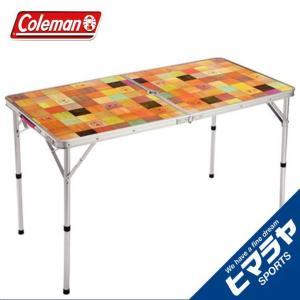 コールマン アウトドアテーブル 大型テーブル ナチュラルモザイクリビングテーブル/120プラス 20...