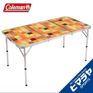 コールマン アウトドアテーブル 大型テーブル ナチュラルモザイクリビングテーブル/140プラス 20...