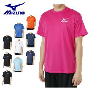 ミズノ テニスウェア Tシャツ 半袖 メンズ レディース 62JA6Z01 MIZUNO バドミントンウェア