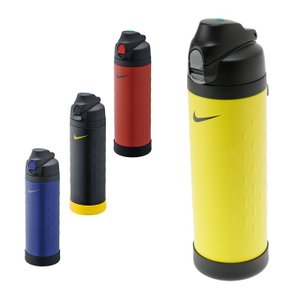 ■ワンタッチ・オープンでそのまま飲めるスポーツボトル。本体には耐衝撃性に優れたソコカバーが付いていま...