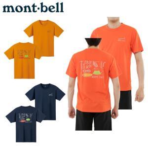 モンベル アウトドア Tシャツ 半袖 メンズ レディース W...