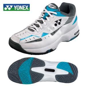 ヨネックス YONEX テニスシューズ オールコート用 メンズ レディース パワークッション 202 WH/SA SHT202 572 テニス シューズ