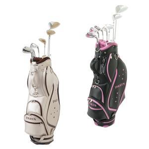 パリス PARIS  ゴルフ セットクラブ レディース PARISセット PRS-6003 L-SET 2x4+UT+PT+CB|himaraya