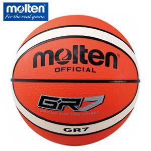 モルテン molten バスケットボール 7号球 ジウジアーロゴム BGR7-OI|himaraya