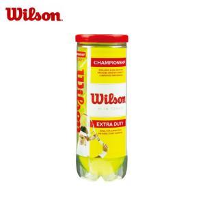 ウイルソン Wilson 硬式テニスボール チャンピオンシップ・エクストラ・デューティー 3球入 WRT100101|himaraya