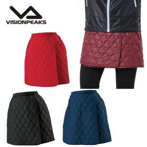 ビジョンピークス VISIONPEAKS アウトドア スカート レディース キルトラップスカート  VP171118G02 himaraya