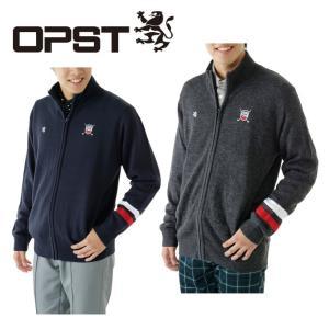 オプスト OPST ゴルフ メンズ フルジップセーター OP220204F03|himaraya