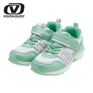 ランニングシューズ ジュニア ジュニアシューズ VQ561105F14 スニーカー 子供 男の子 女の子 こども 靴 運動靴 運動会 ビジョンクエスト VISION QUEST|himaraya