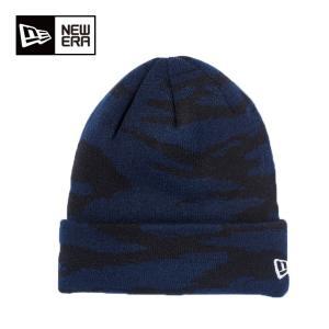 ニューエラ NEW ERA  ゴルフ ニット帽 Basic Cuff Knit タイガーストライプ 11230317|himaraya