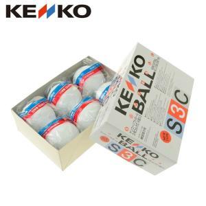 ケンコー KENKO ソフトボール ボール 3号 試合球 1ダース 6個入り ソフトボール 3号コルク芯 6個入り S3CP6NEW|himaraya