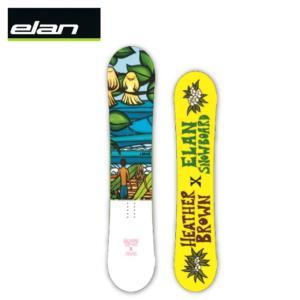エラン ELAN スノーボード板 レディース フリースタイルボード KUUIPOS himaraya