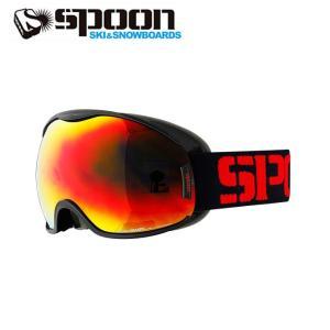 スプーン SPOON スキー ボード ゴーグル メンズ レディース KRAKEN Sレンズ付 SKP-690-3|himaraya