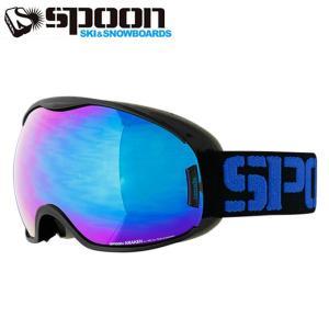 スプーン SPOON スキー ボード ゴーグル メンズ レディース KRAKEN クラーケン Sレンズ付き SKP-690-4|himaraya