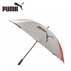 プーマ PUMA ゴルフ 傘 メンズ UV シルバー 80 867582