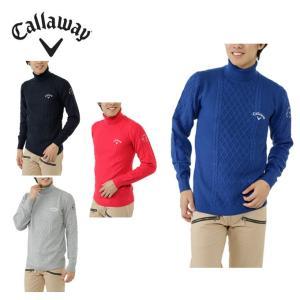 キャロウェイ Callaway ゴルフ メンズ ケーブルタートルネックセーター 241-6260514|himaraya