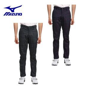 ミズノ MIZUNO ゴルフ メンズ ムーブ3Dチェックボンディングパンツ 52MF6504|himaraya