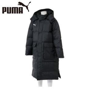 プーマ PUMA サッカーウェア ベンチコート ジュニア TTE PROロングダウンコート 654985-01|himaraya