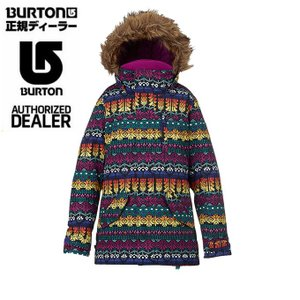 バートン BURTON ボードジャケット ジュニア Girls' Aubrey Parka Jacket ガールズ オーブリー パーカー 15032101