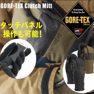バートン BURTON  ボードグローブ メンズ  GORE-TEX Clutch Mitt ゴアテック クラッチ ミトン 17096100 防寒 スマホ対応|himaraya