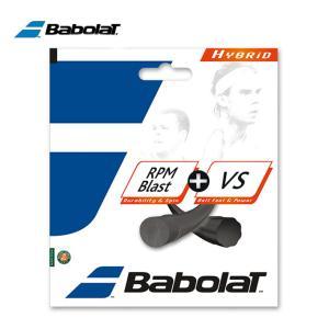 バボラ テニスガット 硬式 単張り ポリエステル モノフィラメント RPMブラスト+VS BA281...