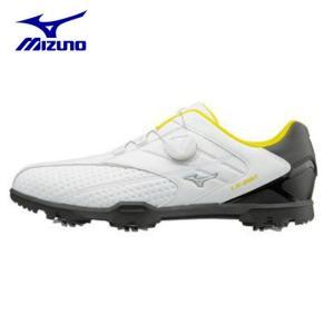 ミズノ MIZUNO ゴルフシューズ ソフトスパイク ゴルフスパイク メンズ LIGHT STYLE 002 Boa 51GM176091|himaraya