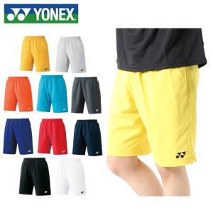 ヨネックス YONEX  テニスウェア メンズ レディース ハーフパンツ スリムフィット 15048