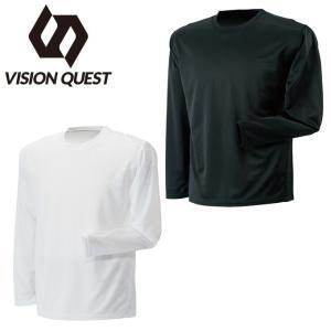 ビジョンクエスト VISION QUEST 長袖機能Tシャツ メンズ クルーネックロングスリーブ機能Tシャツ VQ441202G01|himaraya