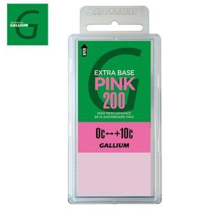 ガリウム ワックス ベースワックス EXTRA BASE PINK 200 SW2080 スキー ス...