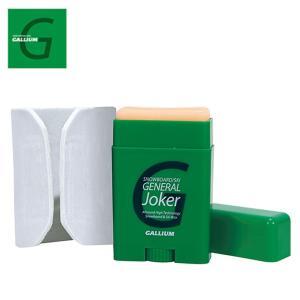 ガリウム ワックス 簡易ワックス 生塗りワックス GENERAL Joker SW2158 GALLIUM スキー スノーボード ワックス