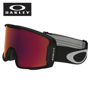 オークリー OAKLEY スキー スノーボード ゴーグル メンズ Line Miner PRIZM Asia Fit Snow Goggle OO7080-02 ウィンタースノーゴーグル|himaraya