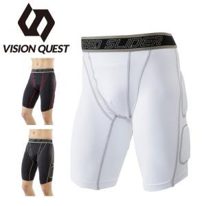 ビジョンクエスト VISION QUEST 野球 スライディングパンツ メンズ ストレッチスラパン VQ550405F01|himaraya