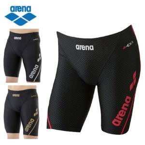 アリーナ arena フィットネス水着 メンズ ロングボックス アクアエクサカット LAR-7300 himaraya