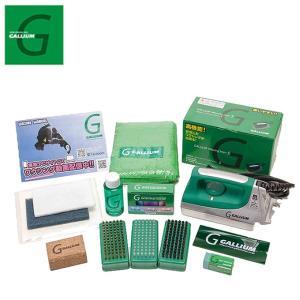 ガリウム ワックスセット アイロンセット Trial Waxing Set ソフトケース JB0004 チューンナップ用品 GALLIUM スキー スノーボード ワックス|himaraya