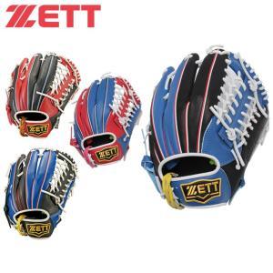 ゼット ZETT  ソフトボールグローブ メンズ レディース リアライズシリーズ BSGB52730 ソフトグラブ ソフト グローブ 一般用 オールラウンド用|himaraya